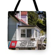 Light Station Owl Head Rockland Maine Tote Bag