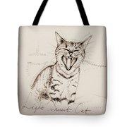 Light Sweet Cat Tote Bag
