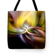 Light Swirl Tote Bag