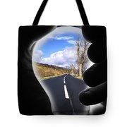 Light The Way Home Tote Bag