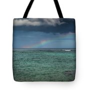 Light Through The Rain Tote Bag