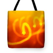 Light Trail Abstract Tote Bag