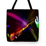 Light Travels Tote Bag