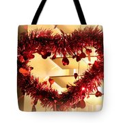 Light Up My Heart Tote Bag