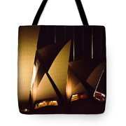 Light Up Sail Of Opera House  Tote Bag
