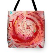 Light Waves Tote Bag