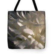 Light Wet Flower Tote Bag