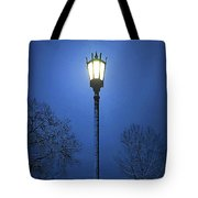 Light Winter Blue Tote Bag