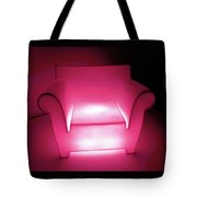 Lighted Chair 3 Tote Bag