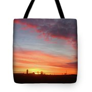 Lighted Clouds Tote Bag