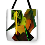 Lighted Composiiton Tote Bag