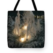 Lighted Fountain Tote Bag