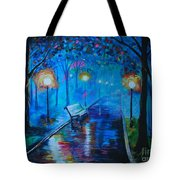 Lighted Parkway Tote Bag