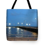 Lighted Pier Tote Bag