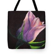Lighted Rose Tote Bag