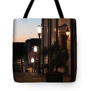 Lighted Walkway Tote Bag