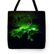 Lightening Storm  Tote Bag