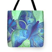 Lighthearted In Blue Tote Bag
