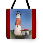 Lighthouse And Entry Tote Bag