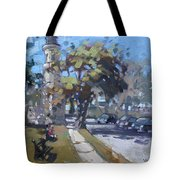 Lighthouse At Fort Niagara Tote Bag