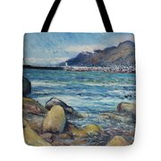 Lighthouse At Kalk Bay Cape Town South Africa 2016 Tote Bag