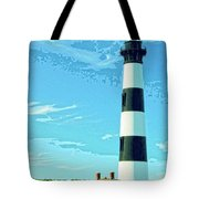 Lighthouse Bodie Island Tote Bag