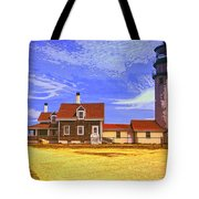 Lighthouse Cape Cod Tote Bag