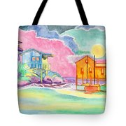 Lighthouse Cove Tote Bag