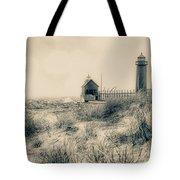 Lighthouse Fade Tote Bag