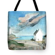 Lighthouse Harbour 3 Tote Bag