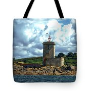 Lighthouse Ile Noire Tote Bag