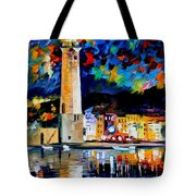 Lighthouse In Crete Tote Bag