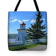 Lighthouse Landscape Four Tote Bag