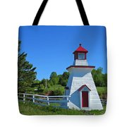 Lighthouse Landscape Two Tote Bag