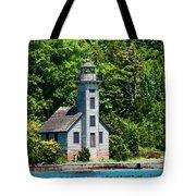 Lighthouse Munising Bay Tote Bag
