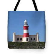 Lighthouse Of Agulhas Tote Bag