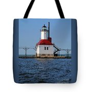 Lighthouse Restored Tote Bag