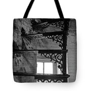 Lighthouse Stairs Tote Bag