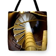 Lighthouse Stairway Tote Bag