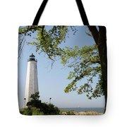 Lighthouse Summer Tote Bag