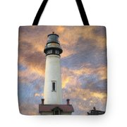 Lighthouse Visitors Tote Bag
