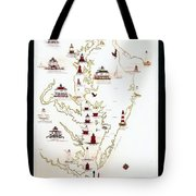 Lighthouses Of The Chesapeake Bay Tote Bag