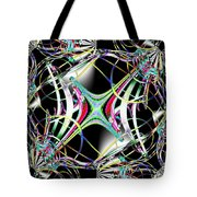 Lighting Supply Fractal Tote Bag