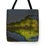 Lighting The Erie Canal Tote Bag