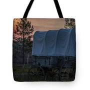 Lighting The West  Tote Bag
