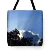 Lighting Up The Sky Tote Bag