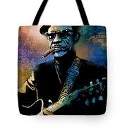 Lightnin Hopkins Tote Bag