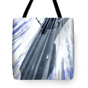 Lightning And Shadow Tote Bag