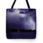 Lightning Bolt Energy Color Tote Bag