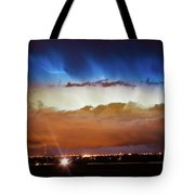 Lightning Cloud Burst Boulder County Colorado Im34 Tote Bag